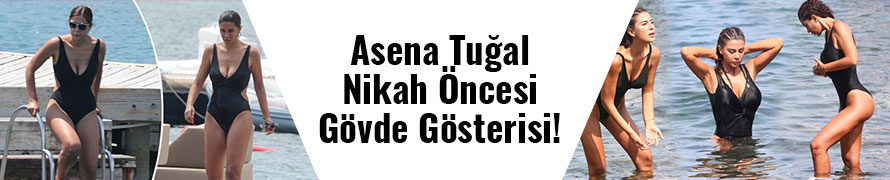 Asena Tuğal... BODRUM 'U YAKIP GEÇTİ!